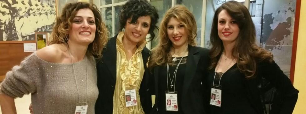 Zeudia, Gilda, Simona, Cristina de La Bottega dell'Attore