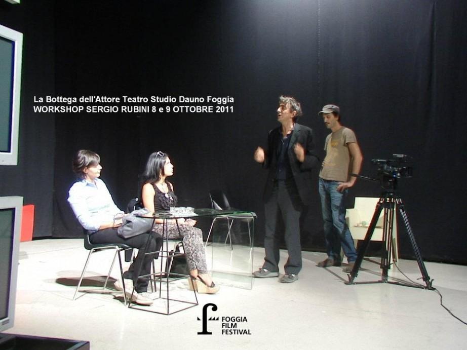 Workshop Sergio Rubini a Foggia