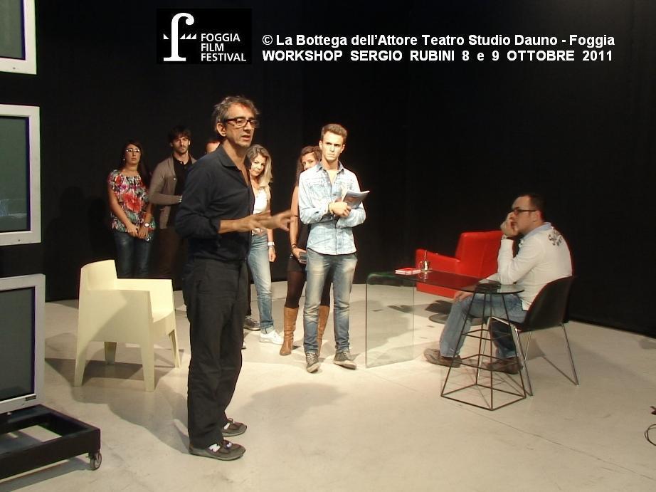 Foggia: Workshop Sergio Rubini
